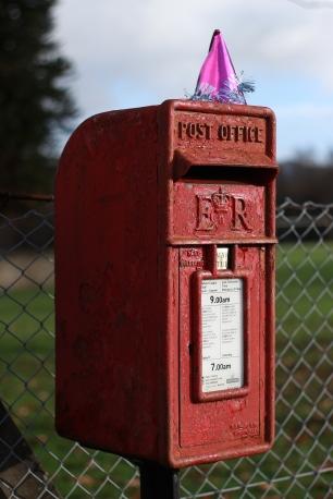 Post box, 2018.