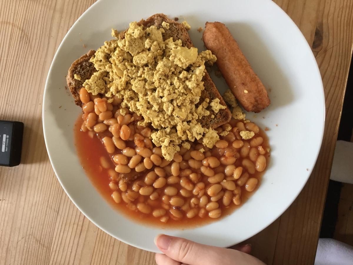 vegan student food examples